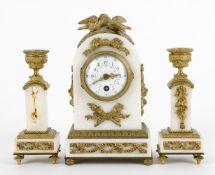 A French timepiece garniture