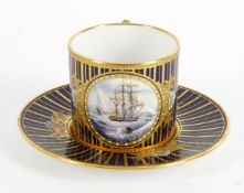 Stefan Nowacki for Lynton- a porcelain coffee can and saucer