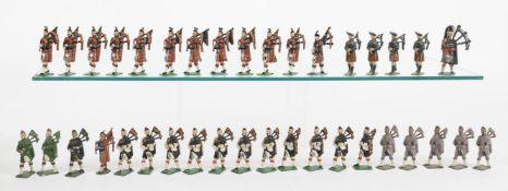 Britains from various Highlander Sets
