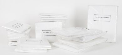 A group of White Company linen sheets-unused and in original packaging