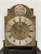 Vale Downs Louth; a George III oak 8 day longcase clock