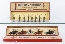 Britains Set No. 136 Cossacks in original label box