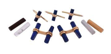 A cufflink set by Boucheron