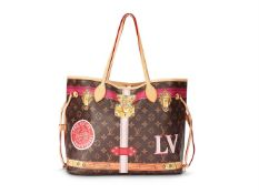 Louis Vuitton, Capsule Collection, Neverfull, a Monogram coated canvas tote bag