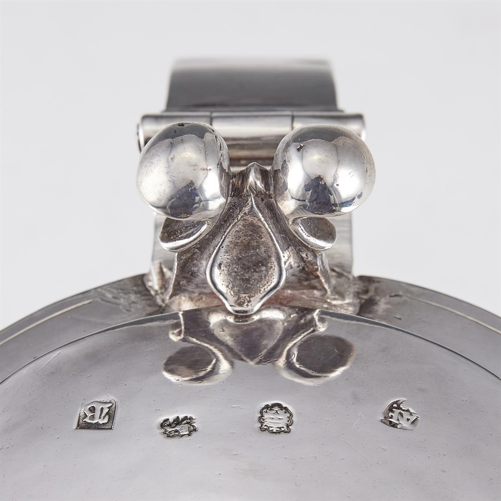 A Commonwealth or Charles II silver straight-tapered tankard by Anthony Ficketts - Image 2 of 2