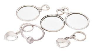 Six items of small silver by William & Son (William Rolls Asprey)