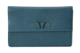 William & Son, Bruton clutch, an Ocean leather handbag