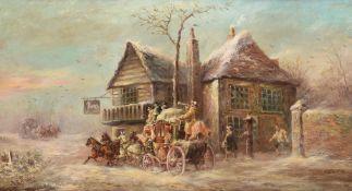 JOHN CHARLES MAGGS (BRITISH 1819-1895), THE BATH POST