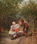 WILLIAM HENRY WARD (BRITISH FL.1850-1882), TICKLED AWAKE