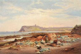 EDWARD HENRY HOLDER (BRITISH 1847-1922), COASTAL SCENE