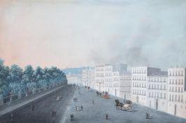 NEAPOLITAN SCHOOL (19TH CENTURY), VIEWS OF MOUNT VESUVIUS AND NAPLES