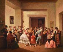 JOSE GUTIERREZ DELA VEGA (SPANISH 1791-1865), FIGURES DANCING