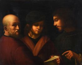 MANNER OF GIORGIONE, THE THREE AGES OF MAN