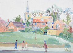 λ FRED YATES (BRITISH 1922-2008), KETTLES YARD, CAMBRIDGE