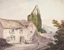 ATTRIBUTED TO SAMUEL PROUT (BRITISH 1783-1852), TINTERN ABBEY