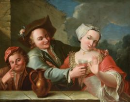 FOLLOWER OF JEAN-BAPTISTE CHARPENTIER (FRENCH 1728-1806), BOIS DONC MA BELLE; L'ATTRAPE-NIGAUD