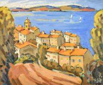 λ HENRI SIE (FRENCH B.1939), ST TROPEZ