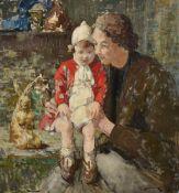 λ WILLIAM LEE-HANKEY (BRITISH 1869-1952), MOTHER AND CHILD