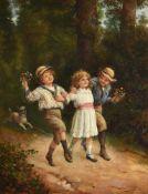 JAMES CLARK (BRITISH 1834-1926), CHILDHOOD'S HAPPY DAYS
