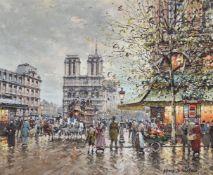 λ ANTOINE BLANCHARD (FRENCH 1910-1988), PARIS