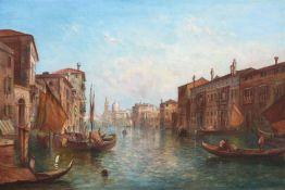 ALFRED POLLENTINE (BRITISH 1836-1890), THE GRAND CANAL