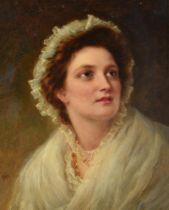 WILLIAM GALE (BRITISH 1823-1909), PORTRAIT OF A LADY