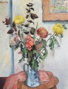 λ WILLIAM CROSBIE (SCOTTISH 1915-1999), AUTUMN FLOWERS