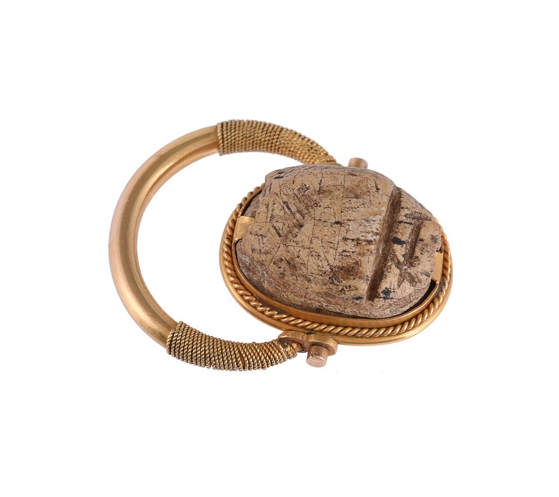 A scarab dress ring - Image 2 of 3