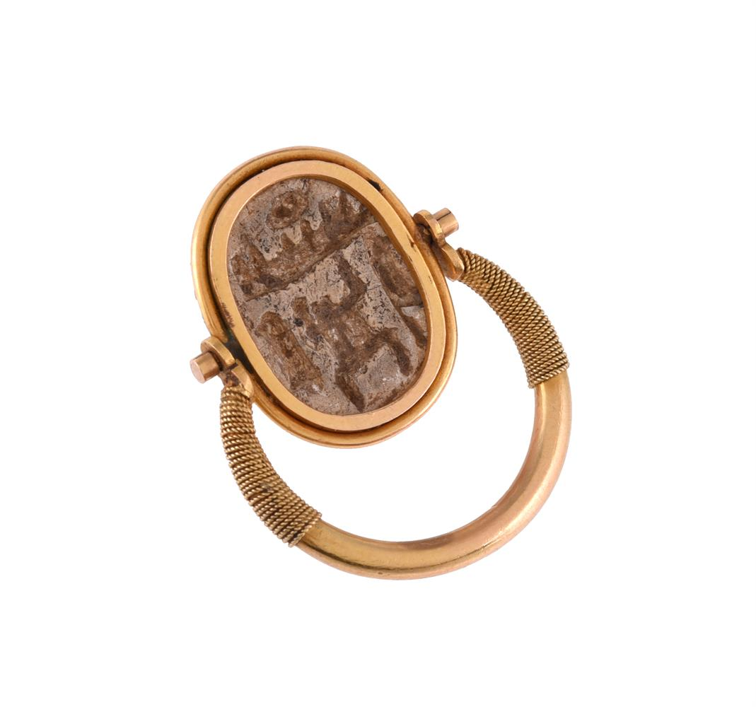 A scarab dress ring - Image 3 of 3