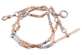 A two colour Albert chain