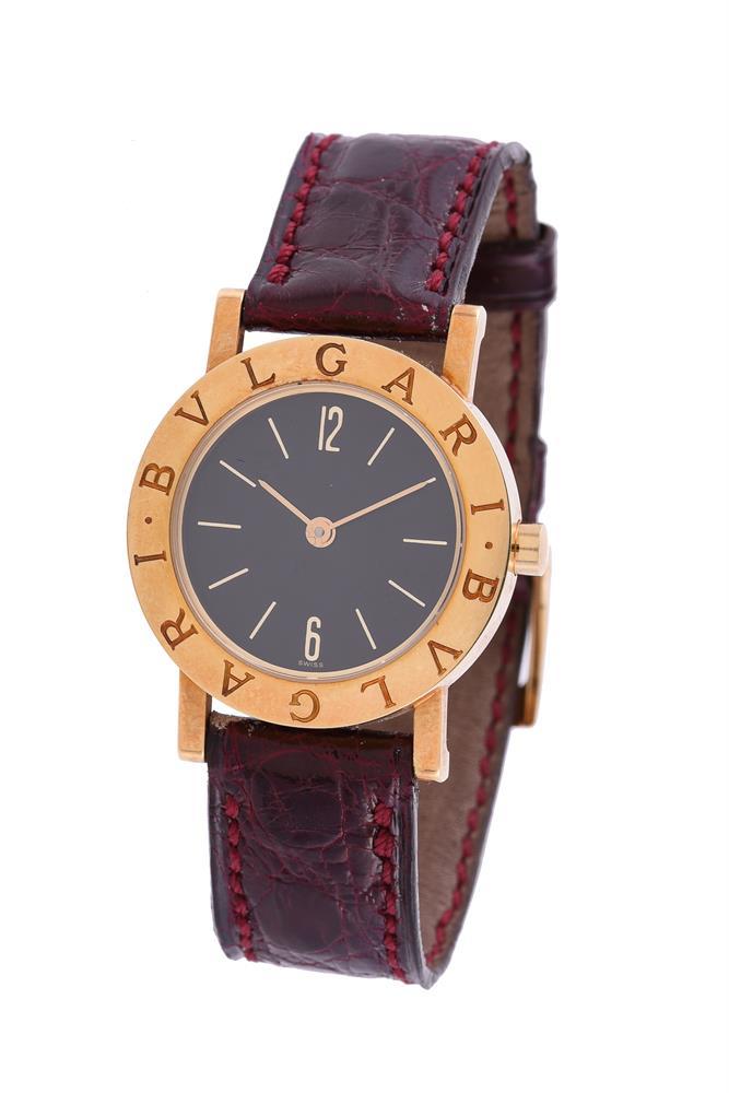 Bulgari, Bulgari, Ref. BB.26.GL, Lady's gold coloured wrist watch