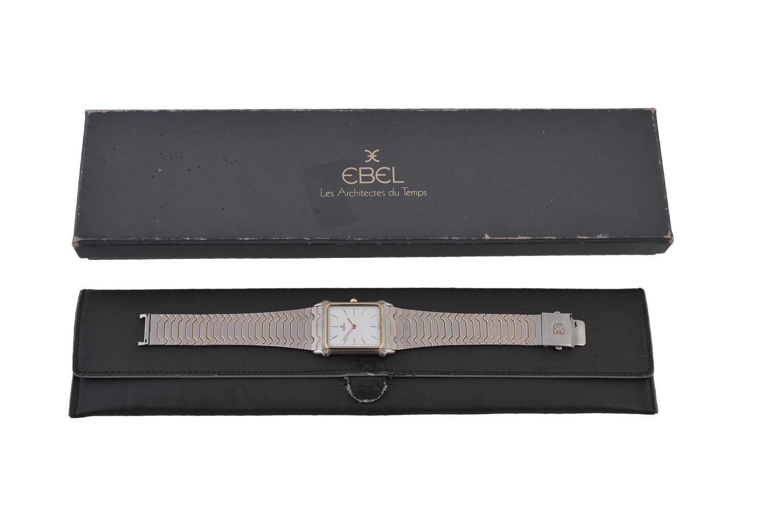 Ebel, Bi-colour bracelet watch - Image 2 of 2