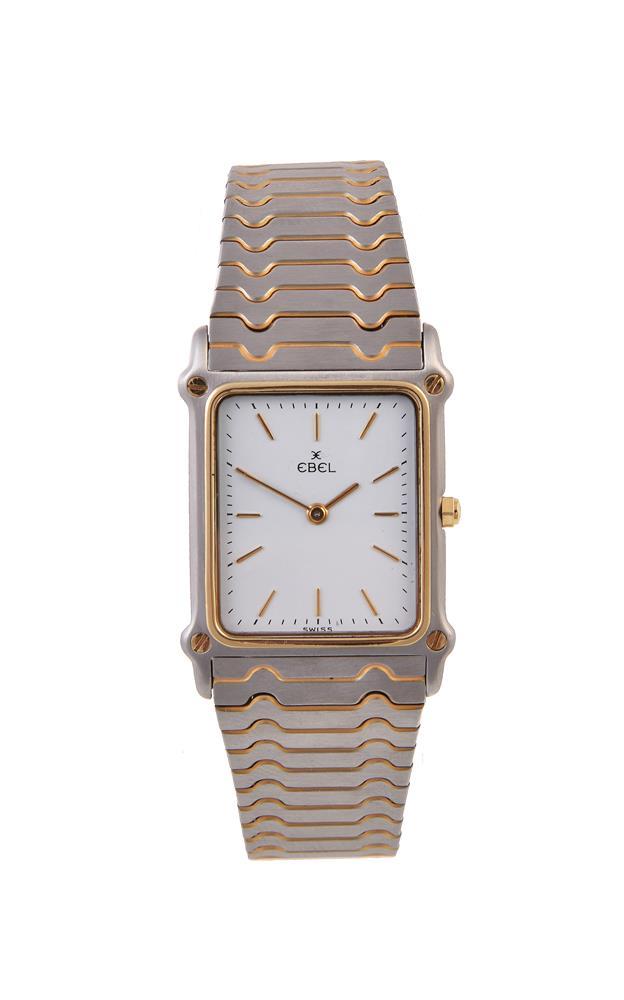 Ebel, Bi-colour bracelet watch