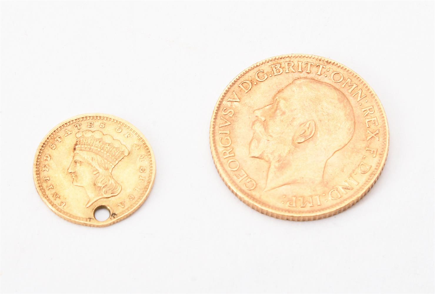 George V, Sovereign 1914 - Image 2 of 2