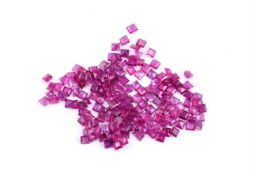 † A parcel of small unmounted rubies