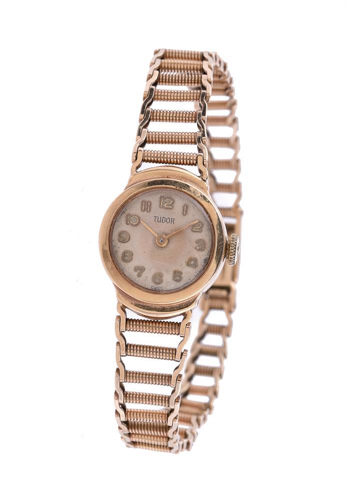 Tudor for Rolex, Lady's 9 carat gold bracelet watch
