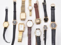 A collection of Raymond Weil wrist watches