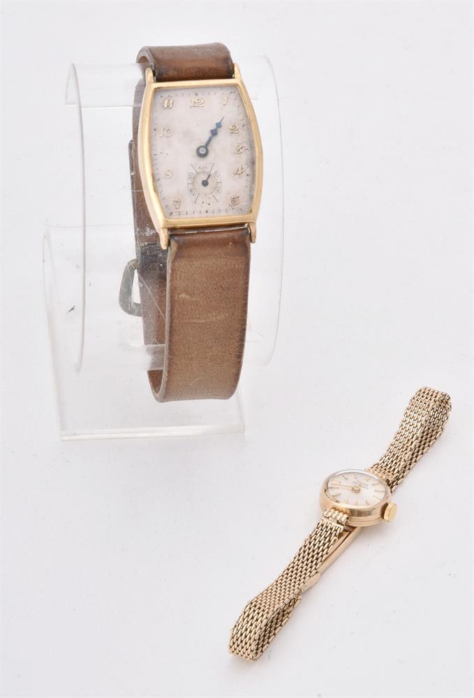 Girard Perregaux, Lady's 9 carat gold bracelet watch
