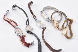 Tudor, six lady's wrist watches