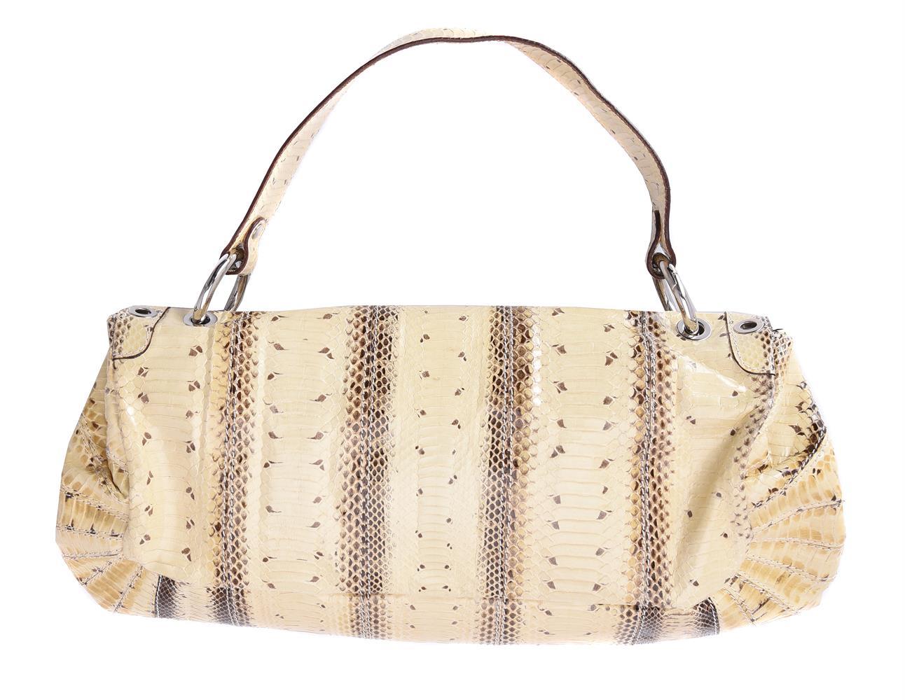 Y Dolce & Gabbana, a python skin handbag - Image 2 of 3
