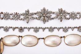 Y A Regency cut steel bracelet
