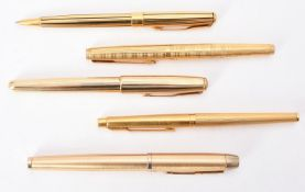 Parker, a collection of various pens