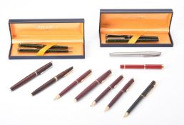 Waterman, a collection of lacquered pens