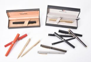 Sheaffer, a black fountain pen