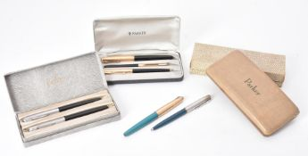 Parker, a collection of fountain pens