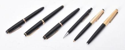 Montblanc, No 14, a black resin fountain pen, circa 1959