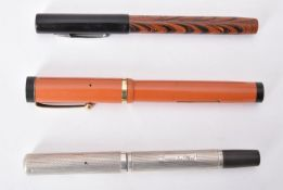 Waterman's, Ideal, a late 1930s silver 52 fountain pen