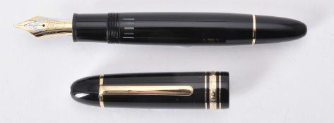 Montblanc, Meisterstuck 149, a black fountain pen