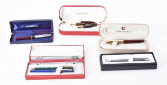 Sheaffer, a collection of pens