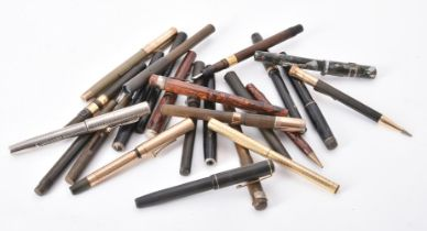 A collection of assorted fountain pens
